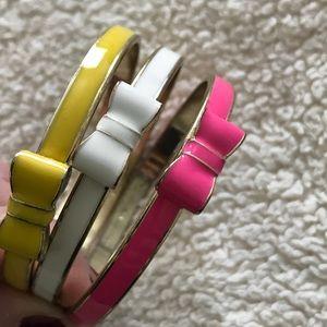 Set of 3 Kate Spade bangles
